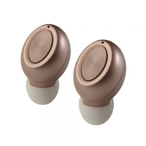 Wireless Bluetooth Earbuds With Mic Gold